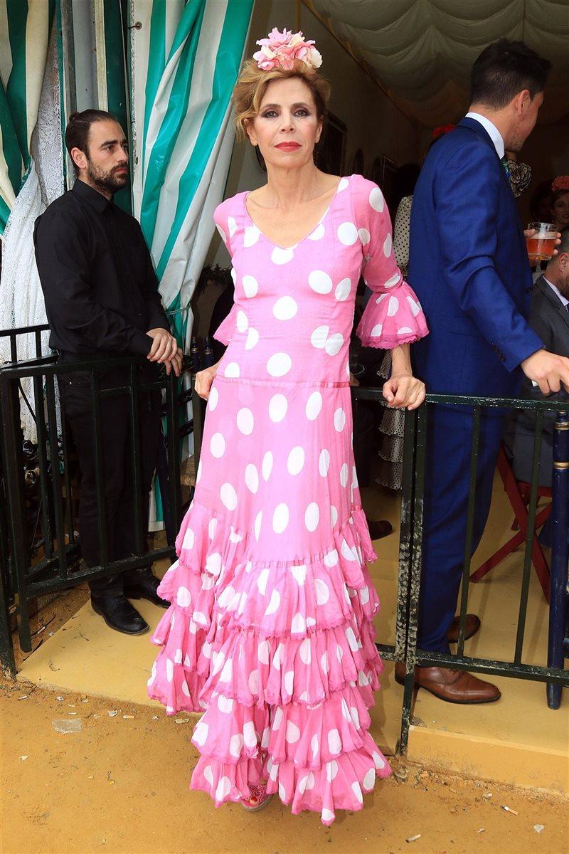 Ana Rosa Quintana y otros rostros conocidos estrenan la Feria de Abril