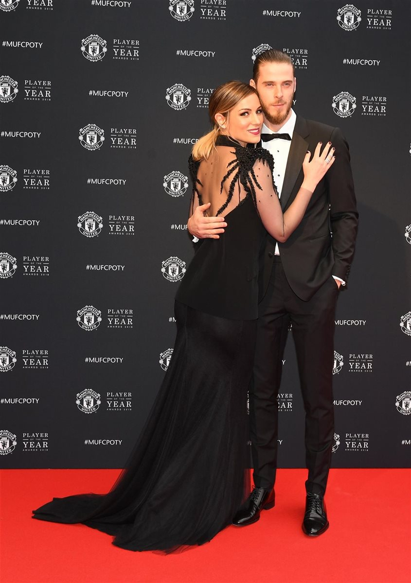 Edurne y David De Gea 01. Espectaculares