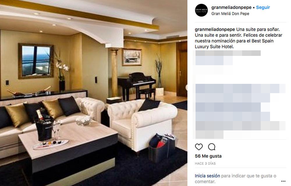 Este es el hotelazo de las vacaciones de paula for Cuanto cuesta una habitacion en un hotel