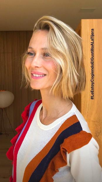 Vanesa lorenzo estrena un favorecedor nuevo 39 look 39 para el for Instagram vanesa lorenzo