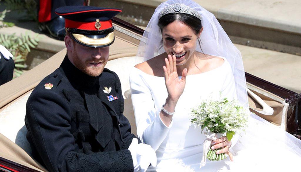 el vestido de novia de meghan markle ¡al detalle!