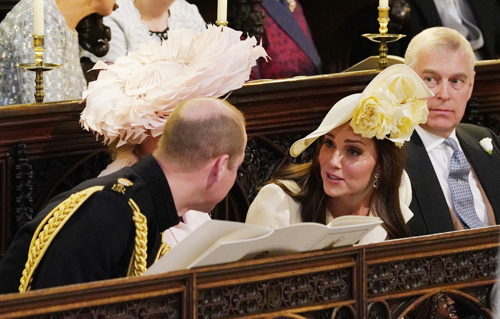 Kate Middleton 1. Durante la ceremonia