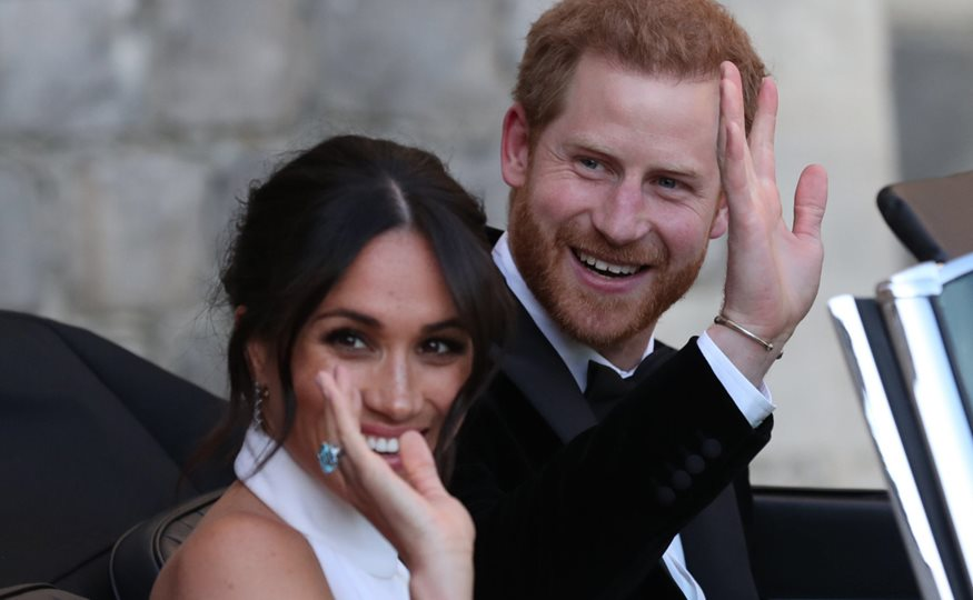 5Harry y Meghan Markle