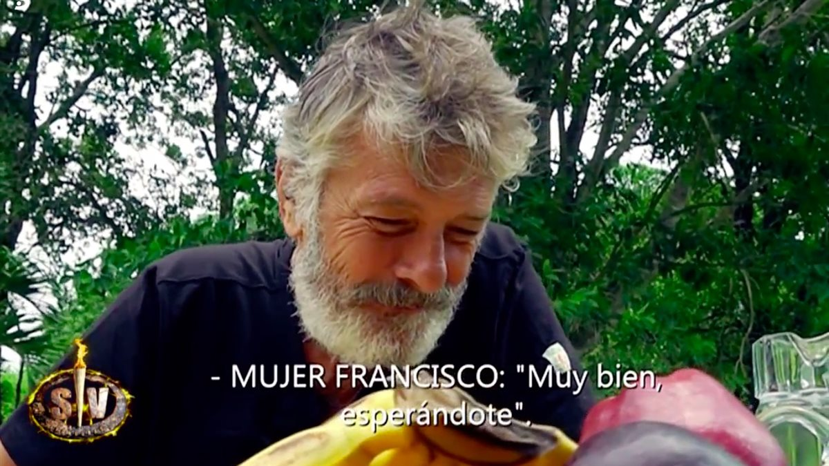 Francisco Supervivientes. Paca, su gran apoyo