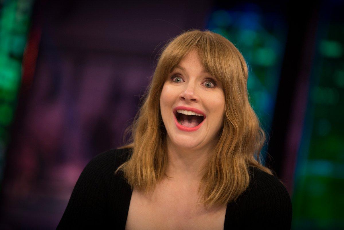 Bryce Dallas Haward en El Hormiguero. Y Bryce Dallas Haward flipando