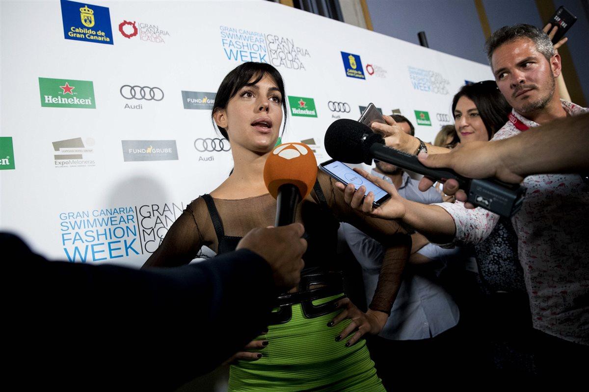 1.Georgina Rodríguez. El centro de atención