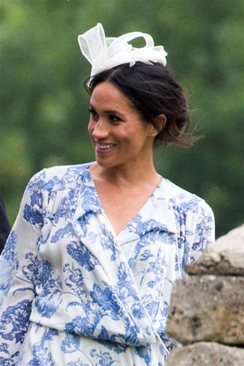 Meghan Markle. ¿Escondiendo barriga?