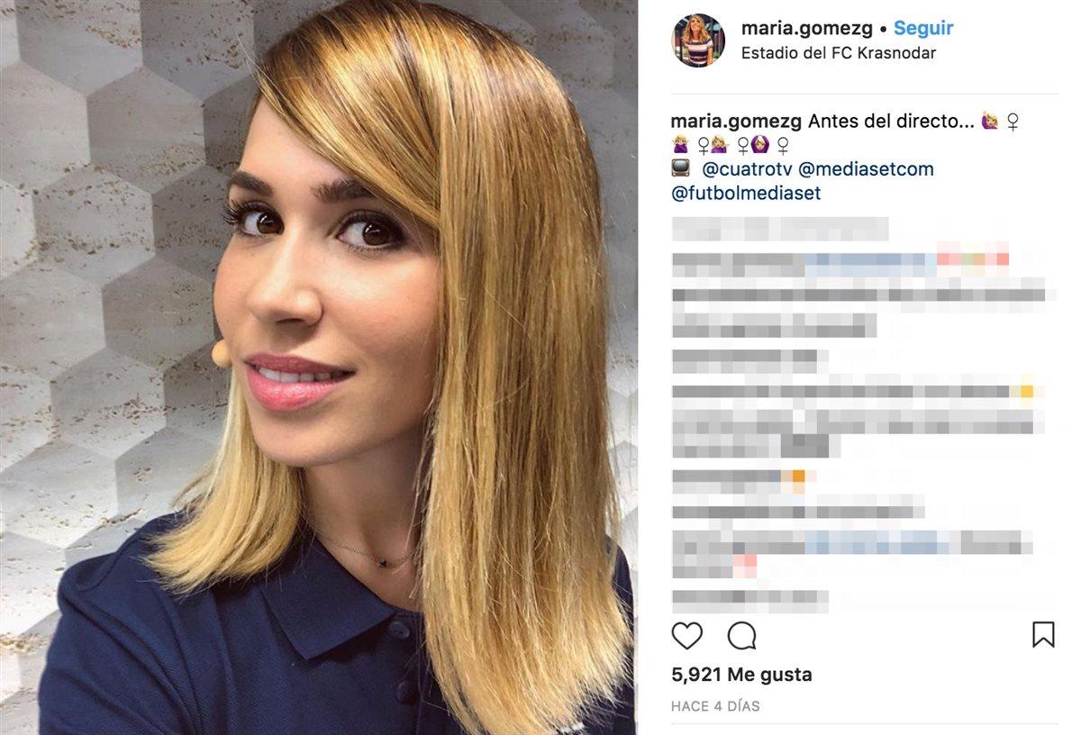 María Gómez Denuncia El Acoso Machista Durante El Mundial De Fútbol