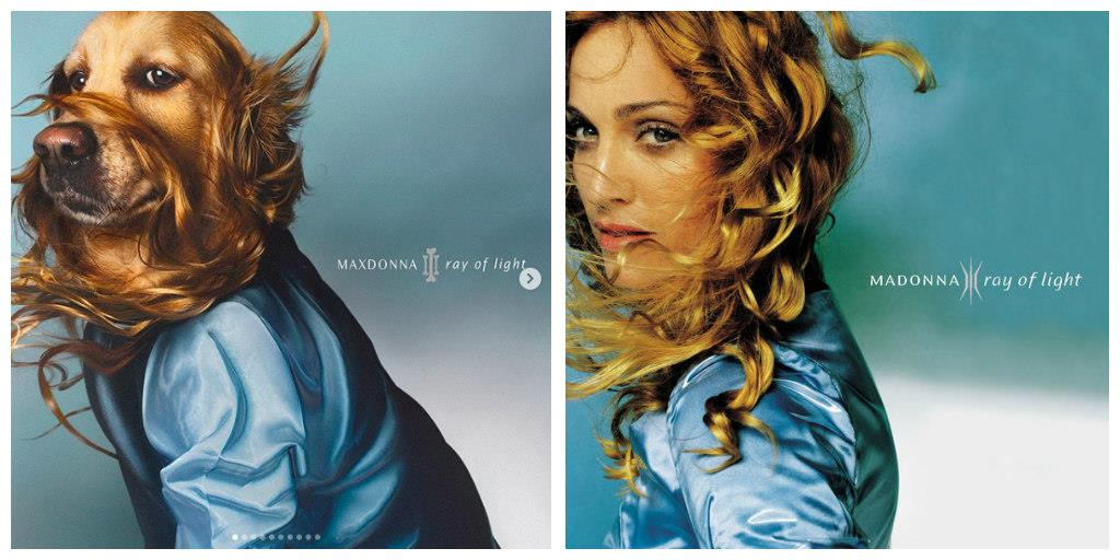 Madonna Ray of Light. Portada de 'Ray Of Light'