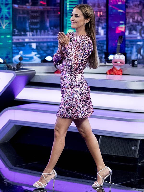 4cce5d06 Paula Echevarría, su vestido más brillante en El Hormiguero se agota