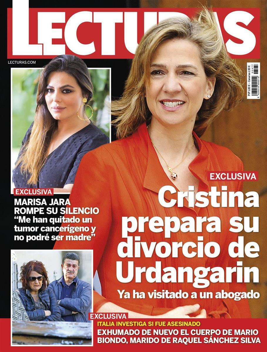 Portada Infanta Cristina 3477. Prepara su divorcio