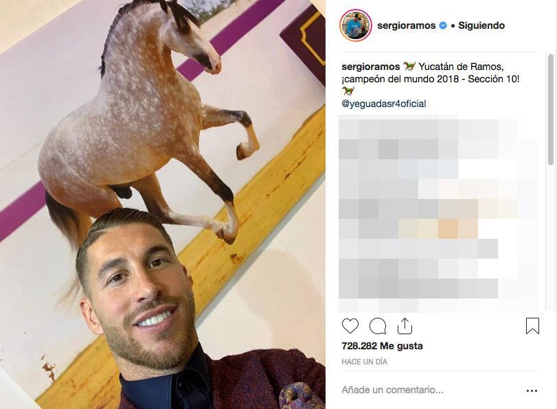 sergio-ramos-sicab. El caballo de Sergio Ramos 4bea3b2d19b