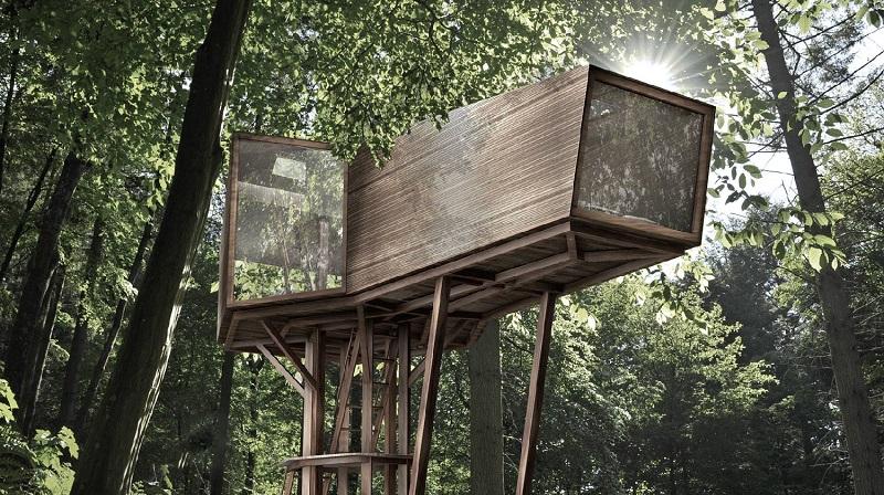 La casa del árbol: El sueño de la infancia hecho realidad