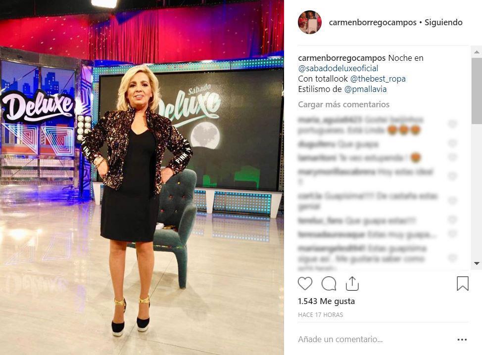 Sábado Deluxe Carmen Borrego Desnuda Sus Pies En Directo
