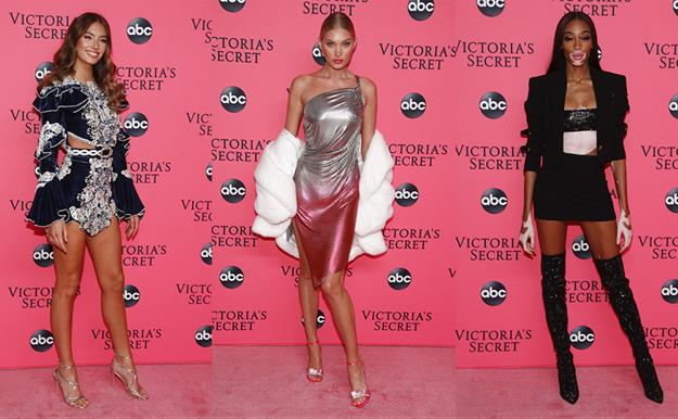 Victoria´s Secret Fashion Show 2018: todos los looks de la 'viewing party'