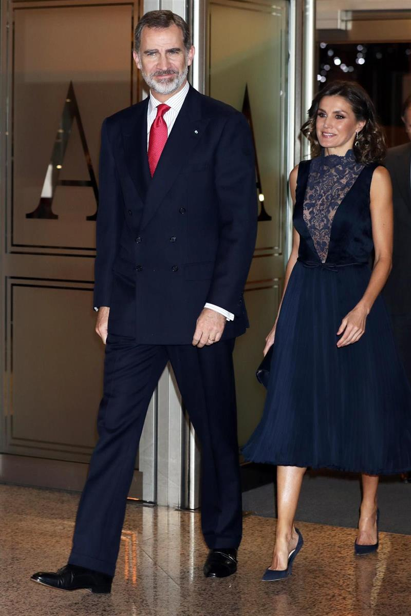 Reina Letizia 1. Toque beauty