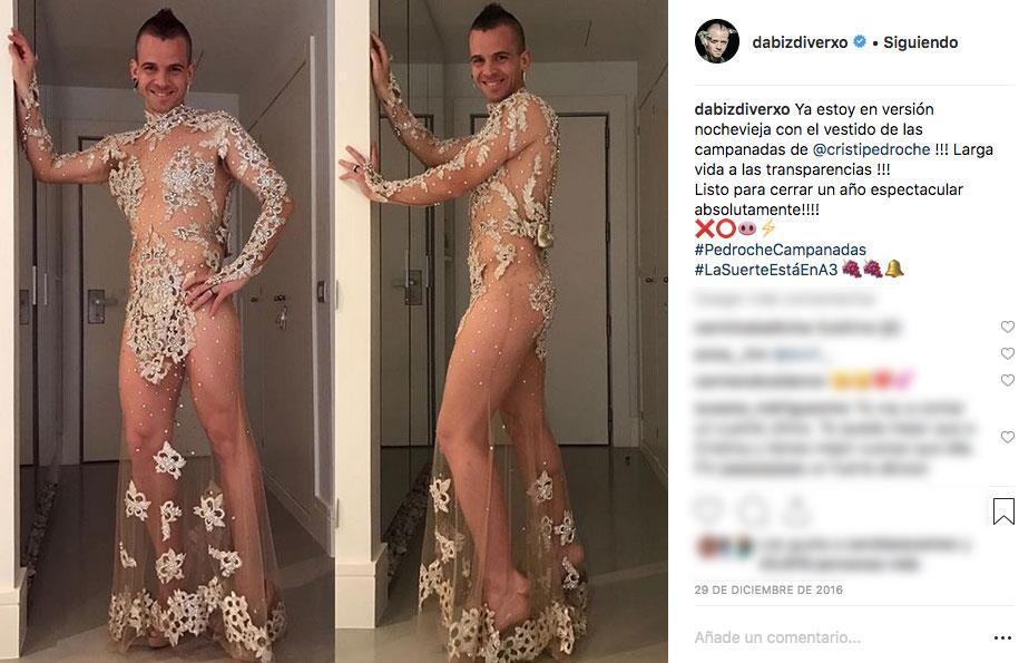 874703a62 Cuando David Muñoz se pone en plan sexy con los vestidos de la Pedroche