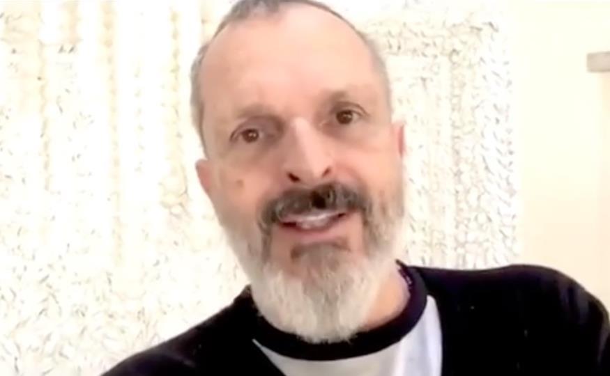 La voz de Miguel Bosé preocupa a sus seguidores — Instagram