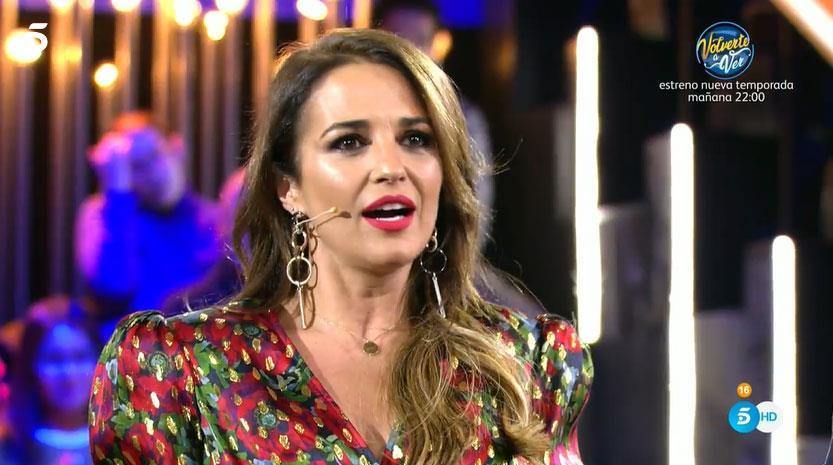 5c63c1413651 GH Dúo: Paula Echevarría aparece por sorpresa y lanza un mensaje a ...