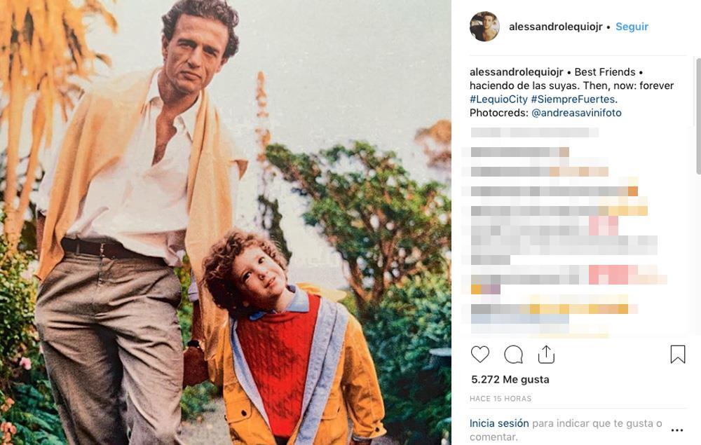 Álex Lequio, a Ana Obregón: