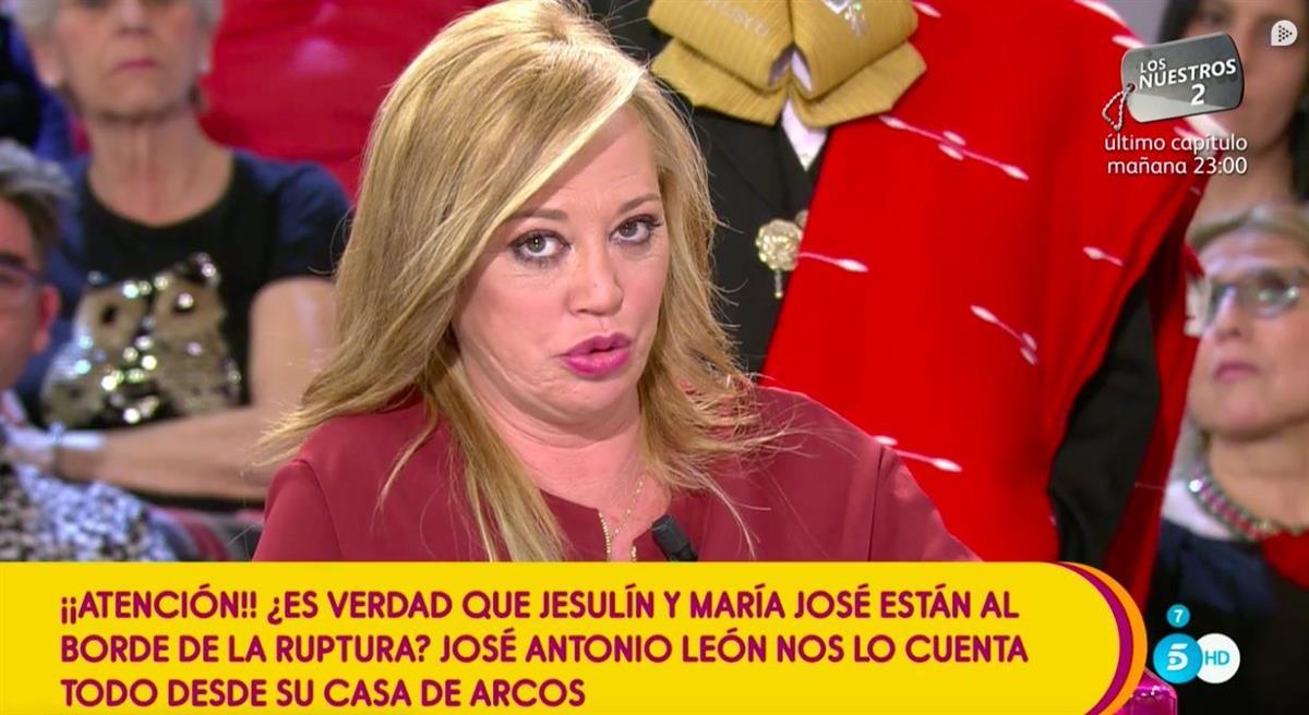 Andrea Duro Descuido belén, demoledora contra jesulín y la campanario, entre de