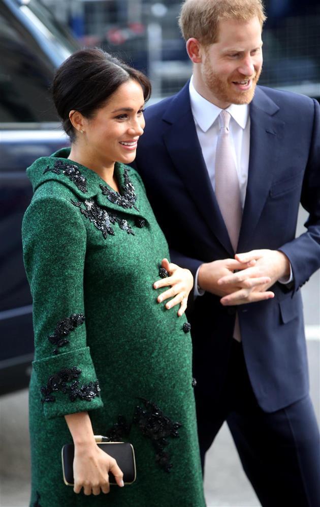 Meghan Markle ya está de baja maternal