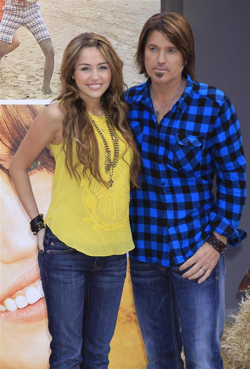 Billy Ray Cyrus y Miley Cyrus