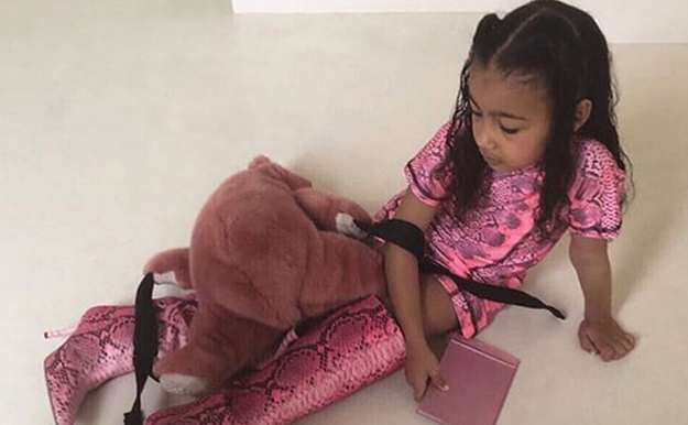 North West se postula como la nueva Miley Cyrus