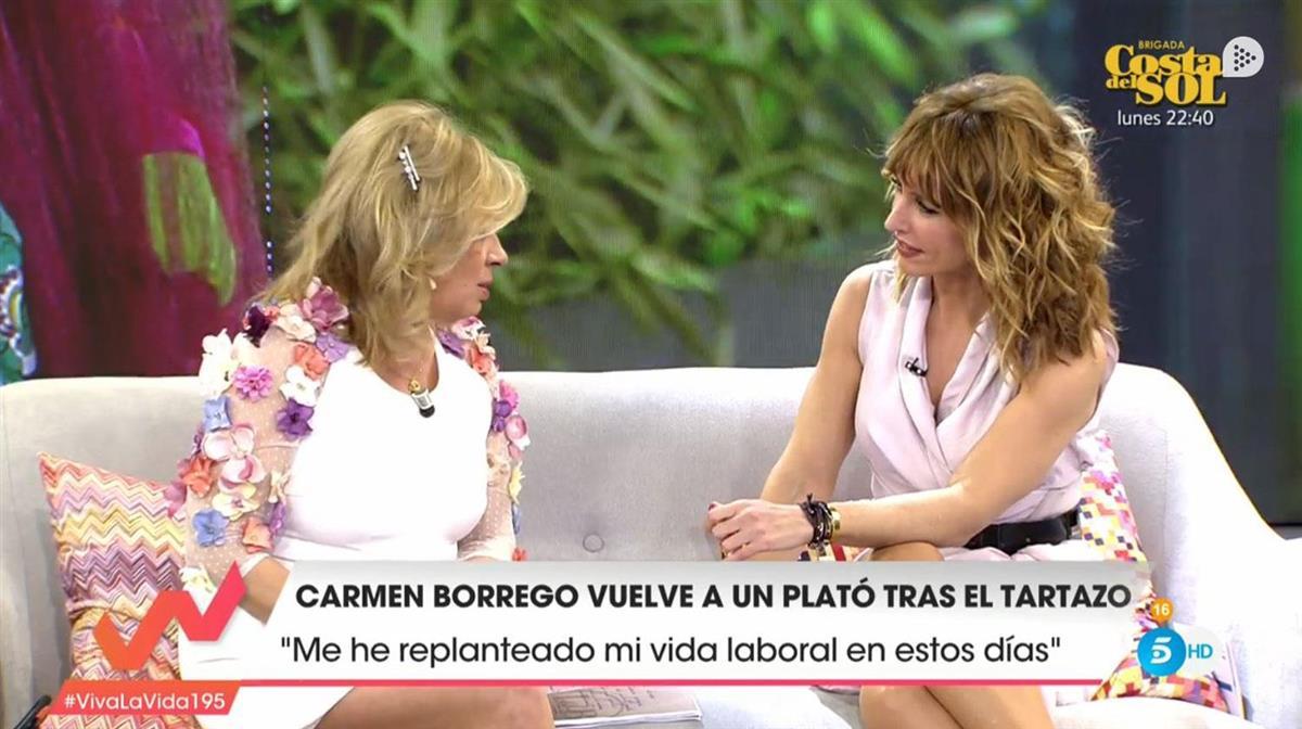 Terelu Campos se despide de Sálvame en Sábado Deluxe
