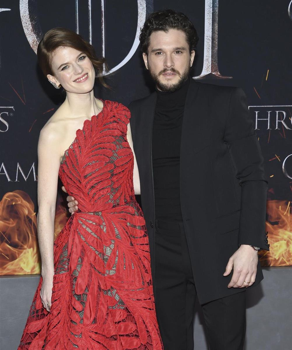 Kit Harinton Rose Leslie