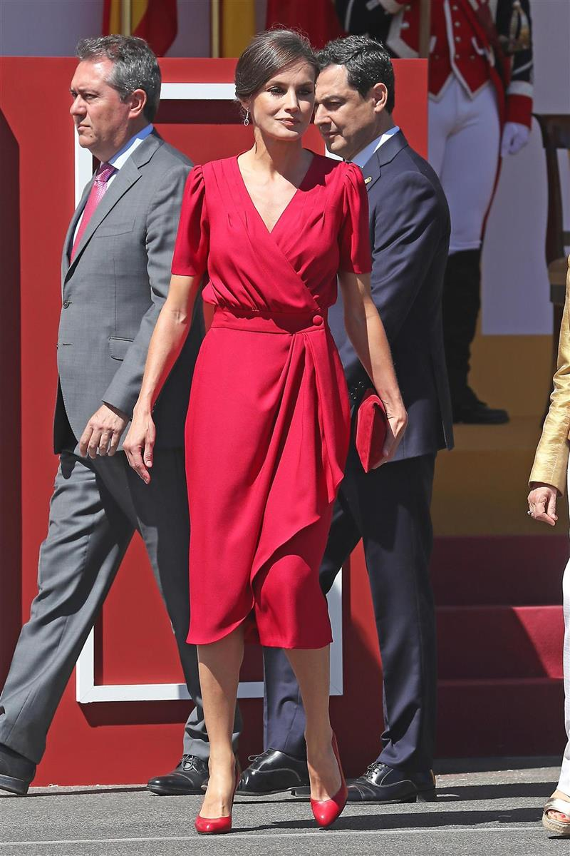 El color favorito de Letizia