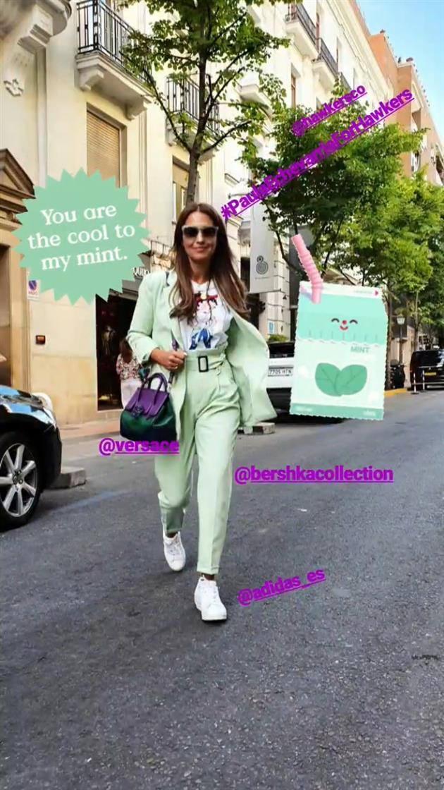 83149faa Paula Echevarría tiene el traje verde menta perfecto para tus looks ...