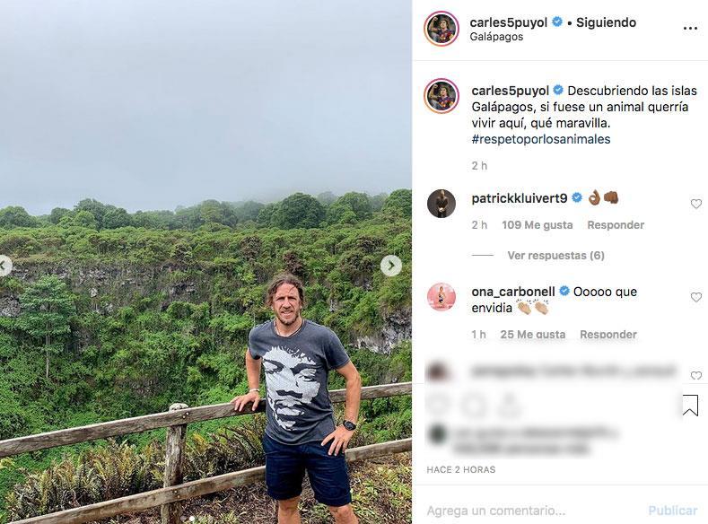 Carles Puyol y Vanesa Lorenzo dan el paso y se comprometen oficialmente