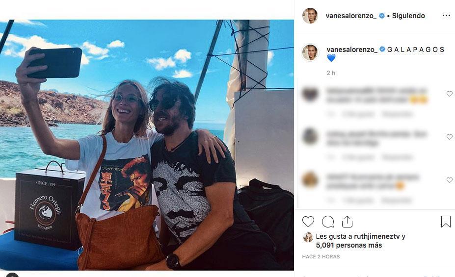 Vanesa Lorenzo le pide matrimonio a Carles Puyol