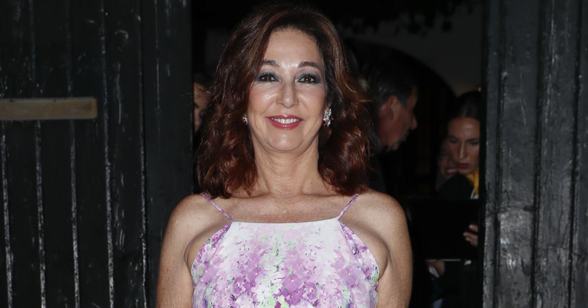 Ana Rosa Quintana, estrella en la preboda de Ainhoa Arteta.
