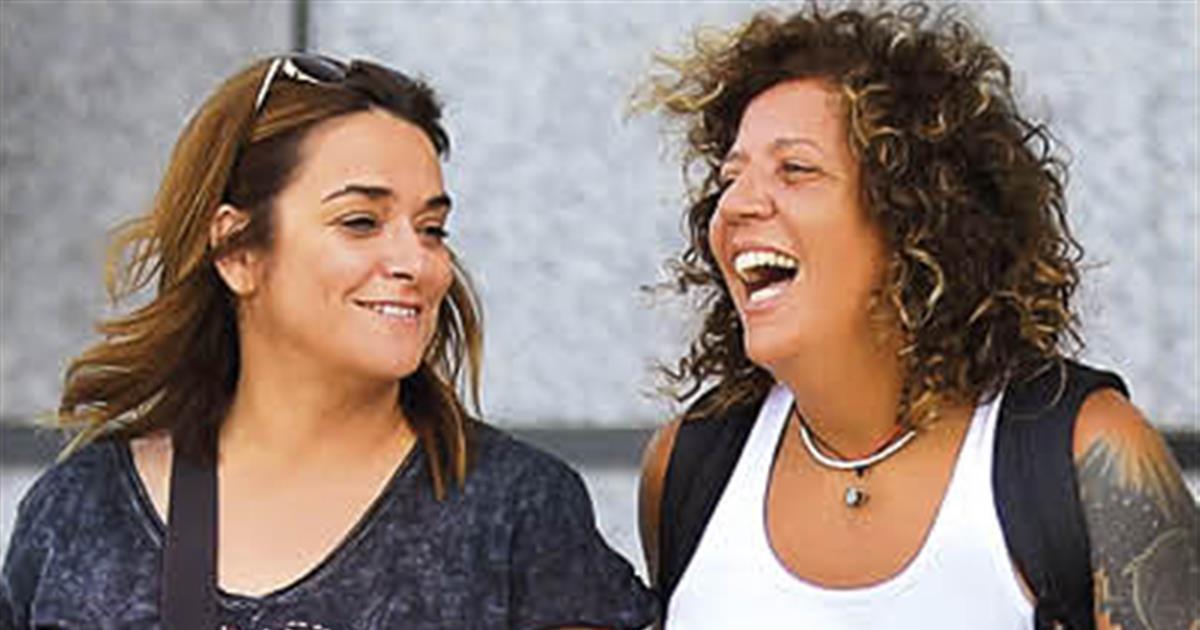 Toñi Moreno Y Rosana Primeras Fotos De La Pareja Tras Conocerse Su Embarazo