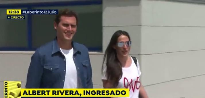 Albert Rivera y Malu