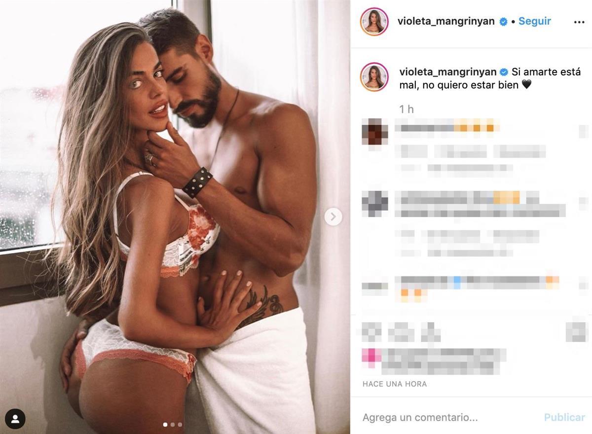 Violeta Y Fabio Revolucionan Las Redes Con Su Foto Más Sensual