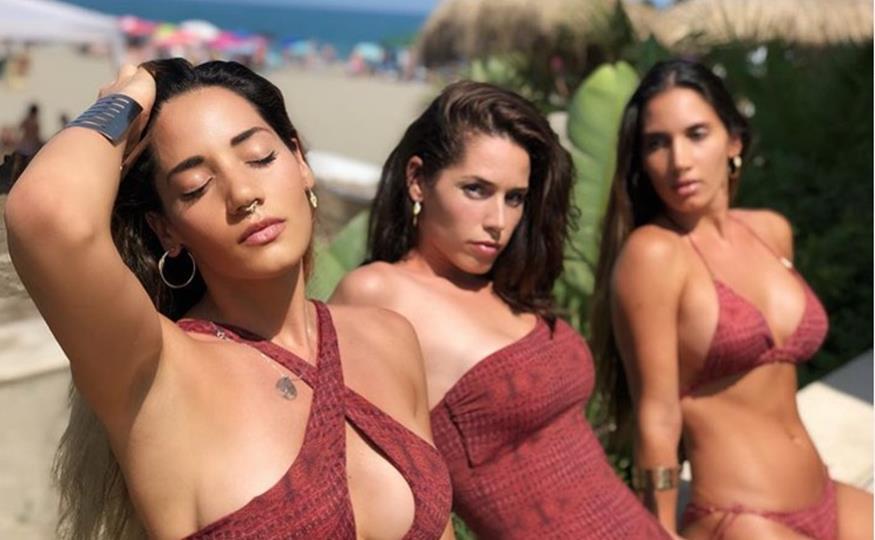 India Martínez y sus hermanas posan en bikini como las Kardashian españolas