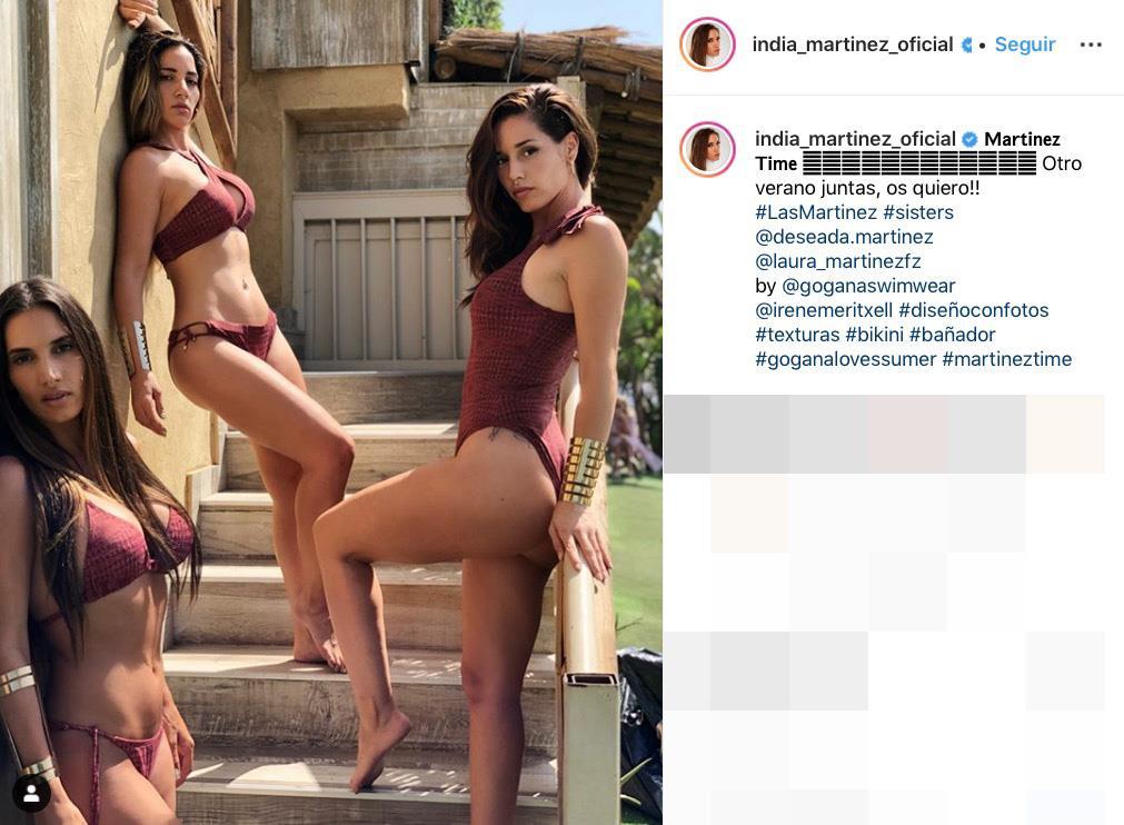 Hermanas Bikini India En Las Y Posan Kardashian Sus Como Martínez 0wkOXnP8