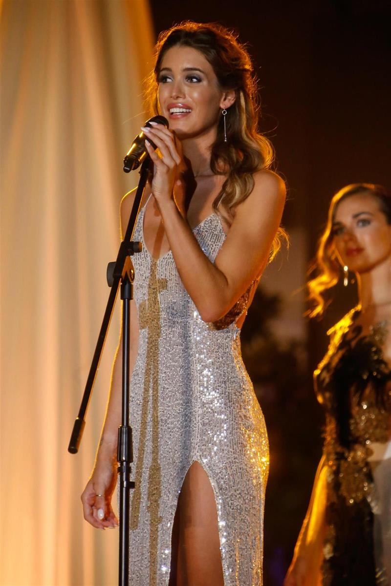 Marta López Álamo en Miss World Spain 2019
