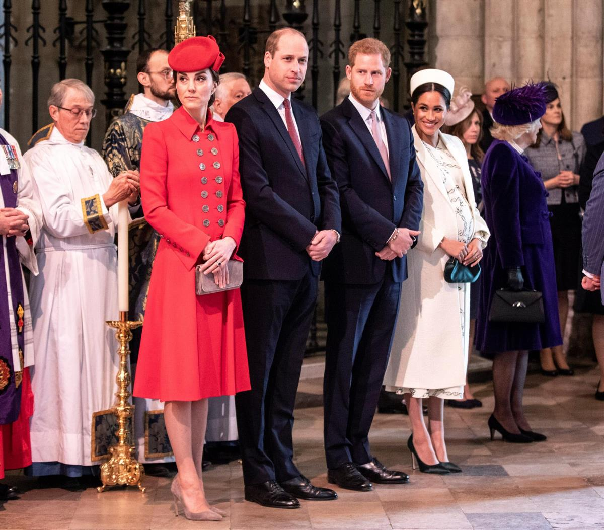 Kate Guillermo Harry y Meghan