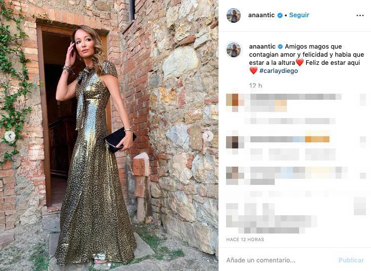 La segunda boda de Diego Simeone y Carla Pereyra
