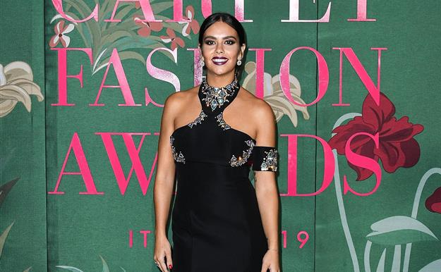 Cristina Pedroche deslumbra en los Green Carpet Fashion Awards de Milán