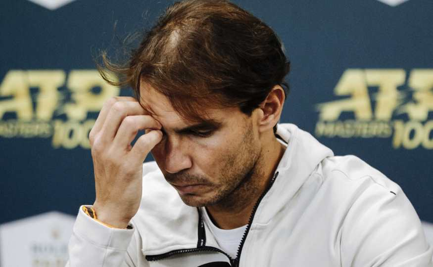 Rafael Nadal se molesta con periodista por insólita pregunta sobre su matrimonio
