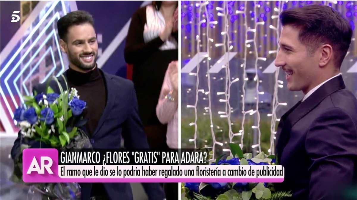 ¡Las mismas flores!