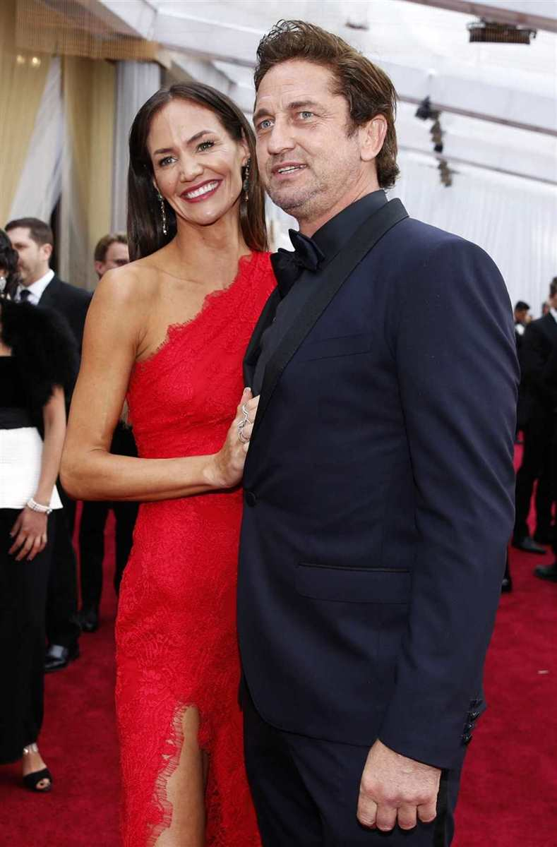Gerard Butler y Morgan Brown