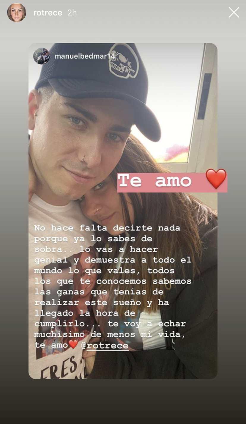 Gloria Camila novio Manuel