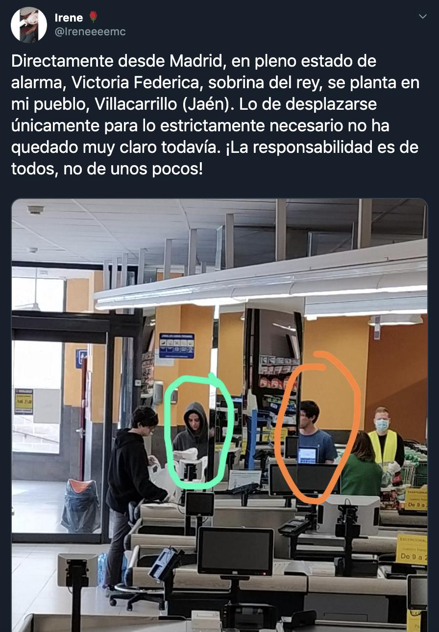 Victoria Federica twitter