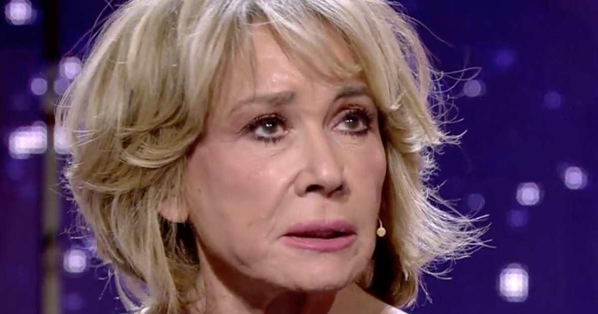 "Sálvame: Mila Ximénez, destrozada, se rompe en directo: ""Se me ha ido la fortaleza"""